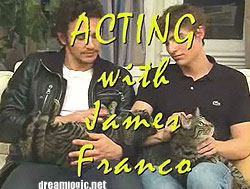 James Franco's mom killed his cat? -- dreamlogic.net
