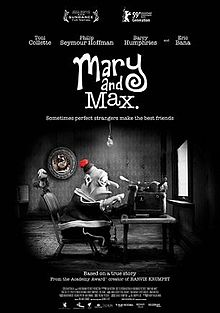 Mary and Max -- movie review -- dreamlogic.net
