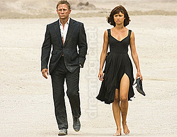 dreamlogic.net -- Quantum of Solace (aka: B22) -- movie review