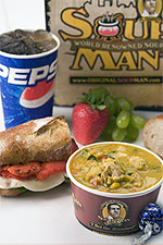 The Original Soup Man aka: the Soup Nazi -- restaurant review -- New York -- dreamlogic.net
